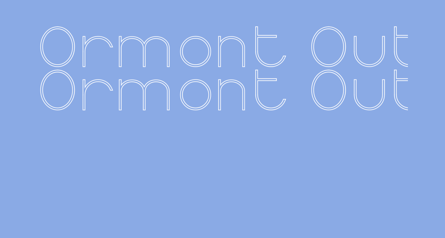 Ormont Outline
