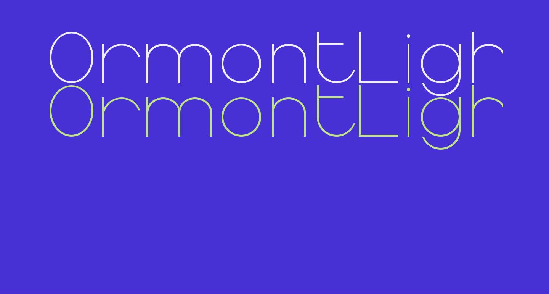 OrmontLight