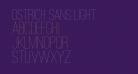 Ostrich Sans Light