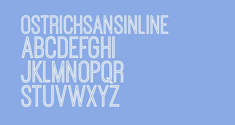OstrichSansInline