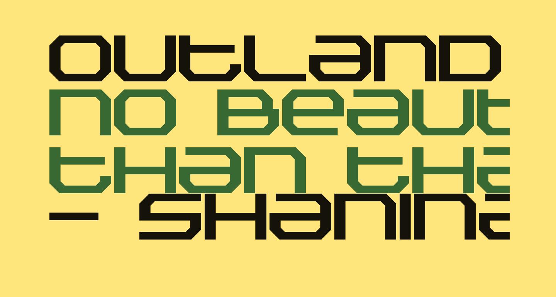 Outland Bold