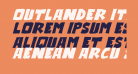 Outlander Italic