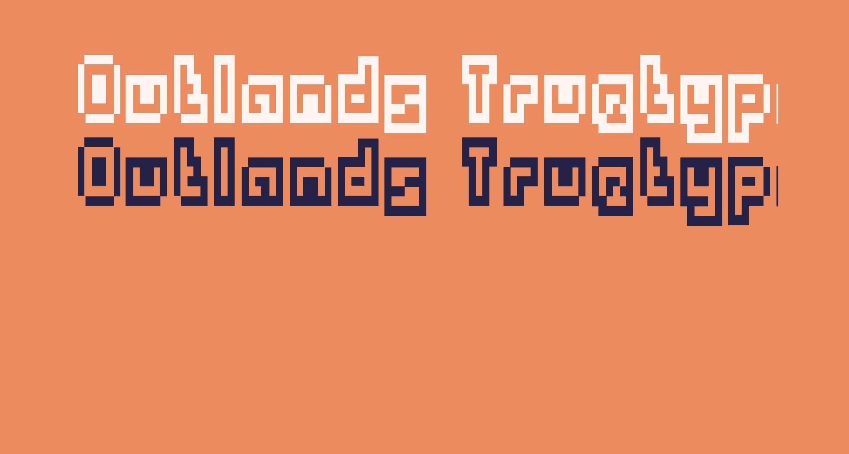 Outlands Truetype