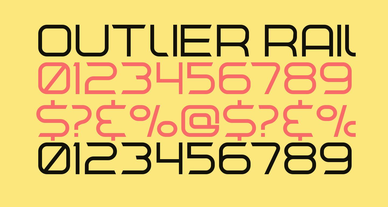 Outlier Rail