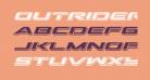 Outrider Punch Italic Italic
