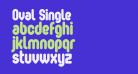 Oval Single