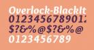 Overlock-BlackItalic