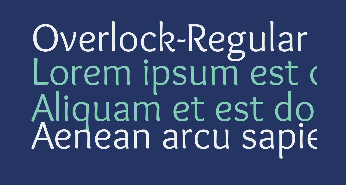 Overlock-Regular