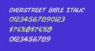 Overstreet Bible Italic
