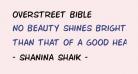 Overstreet Bible
