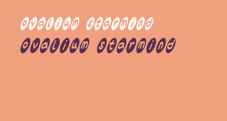 ovalium starmind