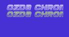 Ozda Chrome Italic