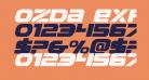 Ozda Expanded Italic