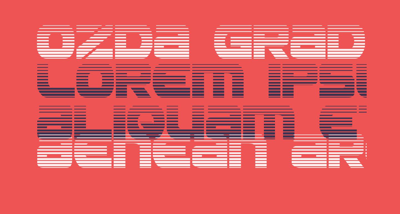 Ozda Gradient Regular