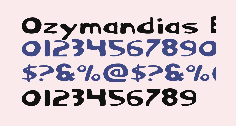 Ozymandias Expanded