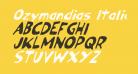 Ozymandias Italic