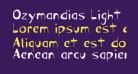 Ozymandias Light