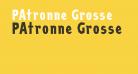 PAtronne Grosse