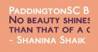 PaddingtonSC Bold