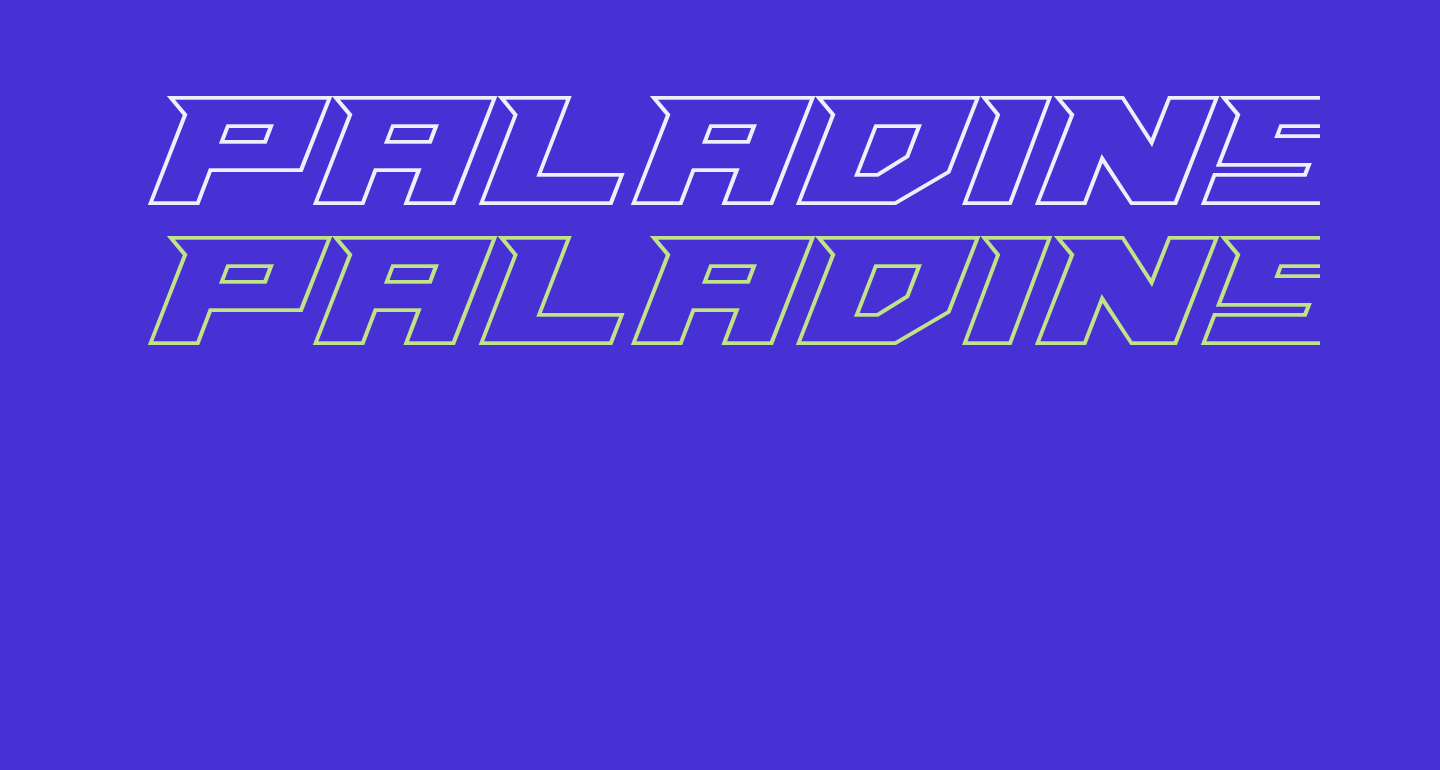 Paladins Outline