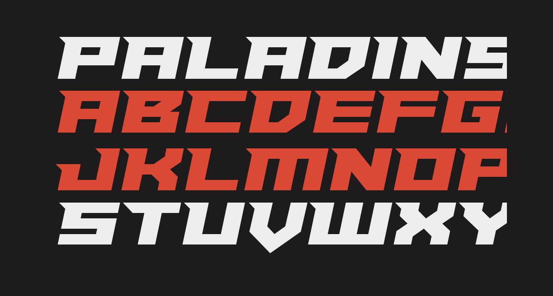 Paladins Semi-Italic