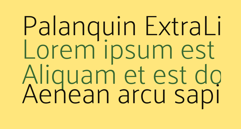 Palanquin ExtraLight