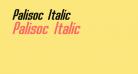 Palisoc Italic