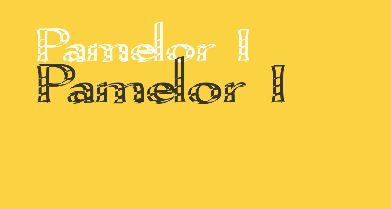 Pamelor I