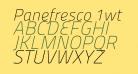 Panefresco 1wt Italic