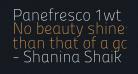 Panefresco 1wt Regular
