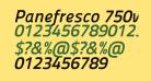 Panefresco 750wt Italic
