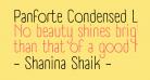 Panforte Condensed Light