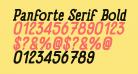 Panforte Serif Bold Italic