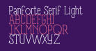 Panforte Serif Light