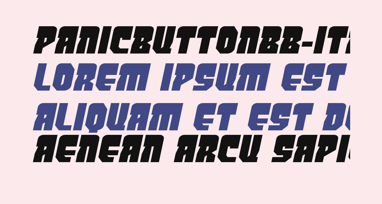 PanicButtonBB-Italic
