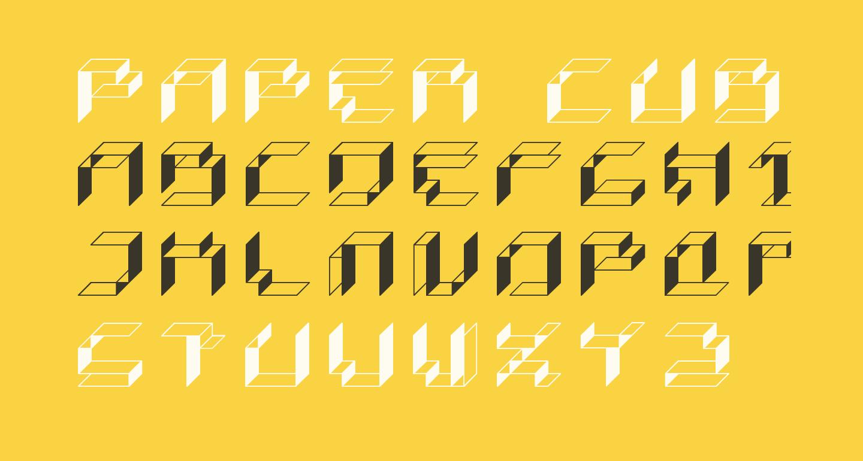 Paper Cube - Box version