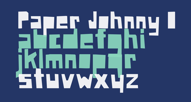 Paper Johnny Drei