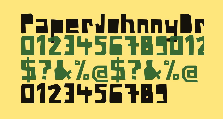PaperJohnnyDrei-Regular
