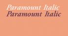 Paramount Italic