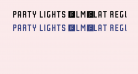 Party Lights [WLM] Flat Regular
