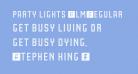 Party Lights [WLM] Regular