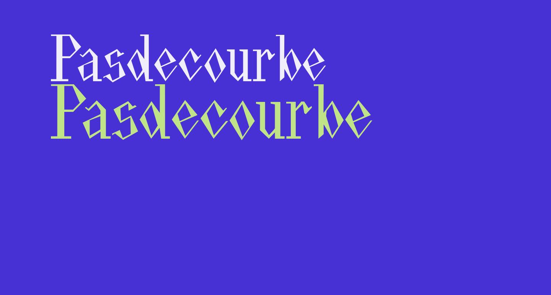 Pasdecourbe