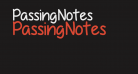 PassingNotes