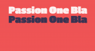 Passion One Black