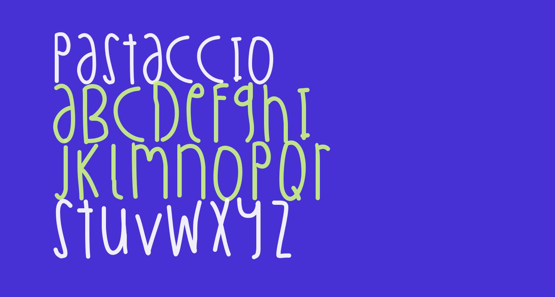 Pastaccio