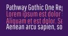Pathway Gothic One Regular