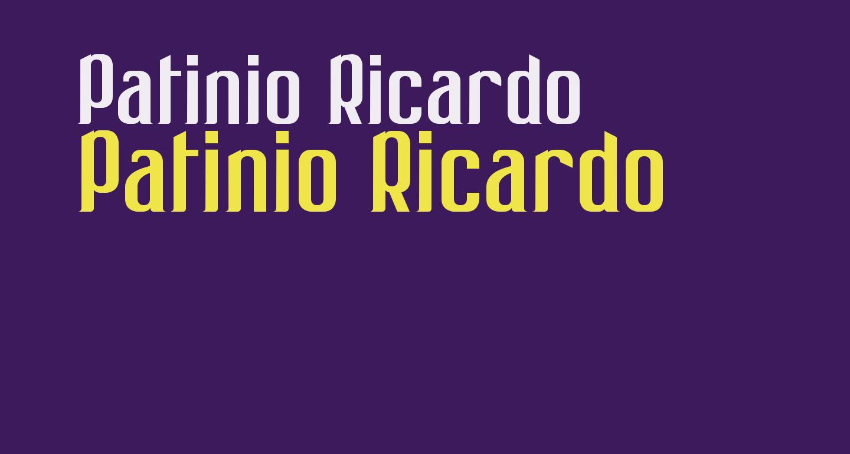 Patinio Ricardo
