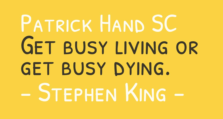 Patrick Hand SC