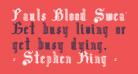 Pauls Blood Sweat & Tears