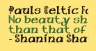 Pauls Celtic Font 1